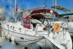 vente oceanis 361 clipper d'occasion st-cyprien