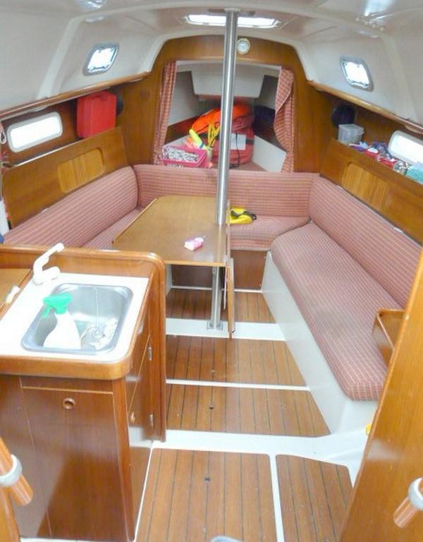 voilier occasion oceanis 281 à st-cyprien