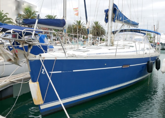 oceanis 393 clipper occasion st-cyprien